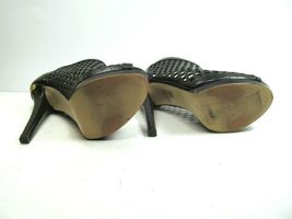 Michael Kors Womens Peep Toe Stilettos Platforms With Cutouts Size US 6 M image 9