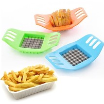 French Fry Potato Chip Cut Vegetable Fruit Slicer Chopper - $10.21