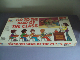 Vintage Board Game Go To The Head Of The Class 1978 Complete - $15.00