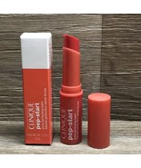 TANGERINE CLINIQUE PEP-START PEPPED UP POUT PERFECTING LIP BALM - $16.95