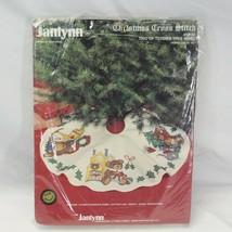 Janlynn Christmas Cross Stitch Trio of Teddies Tree Skirt #57-30 Open Pk... - $48.99