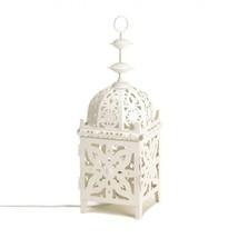 White Medallion Table Lamp - €29,83 EUR