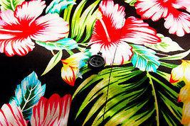 Men's Tropical Aloha Beach Party Hawaiian Luau Button Up Casual Dress Shirt XL image 5