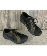 Keen Men's Shoes Size 8.5 Black/Brown Leather Lace-Tie Comfort #7009385 - $19.78