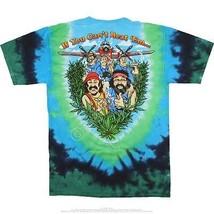 Cheech & Chong Champ de Rêves Stoner Comédie Drôle Tie And Dye T-Shirt M... - $24.12+