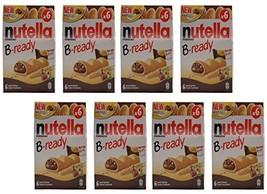 "Ferrero: ""Nutella B-ready NEW + NUTELLA "" a crisp wafer of bread in the ... - $102.91"