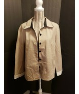 & Trousers Khaki Colored Trench Coat Women's Size 16 - $35.00