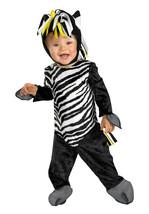 Zany Zebra Toddler Costume 12-18 Months - Free Shipping - $25.00