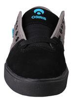 Osiris Black/Cyan Men's Decay Skateboarding Shoes image 5