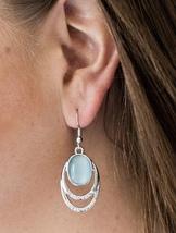 Moonlight Over Paris Blue Earring - $5.00