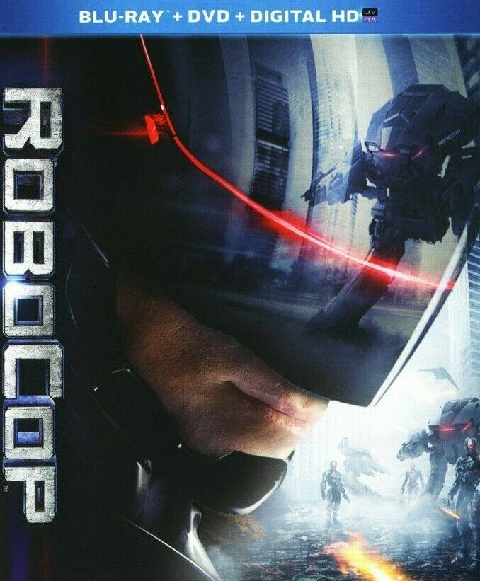 Robocop (Blu-ray Disc, 2014, 2-Disc Set, Includes Digital Copy UltraViolet)