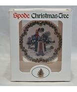 Spode Christmas Tree Ornament Santa's Around the World British Santa - $10.89