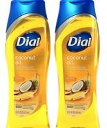 2 Ct Dial Coconut Nourishing Skin Smart Moisturizing Conditioner Body Wa... - $21.99