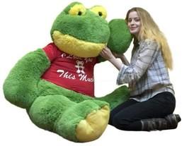 Gigante Peluche Rana 152cm Morbido 1.5m Big Plush i Love You This Molto - $126.64