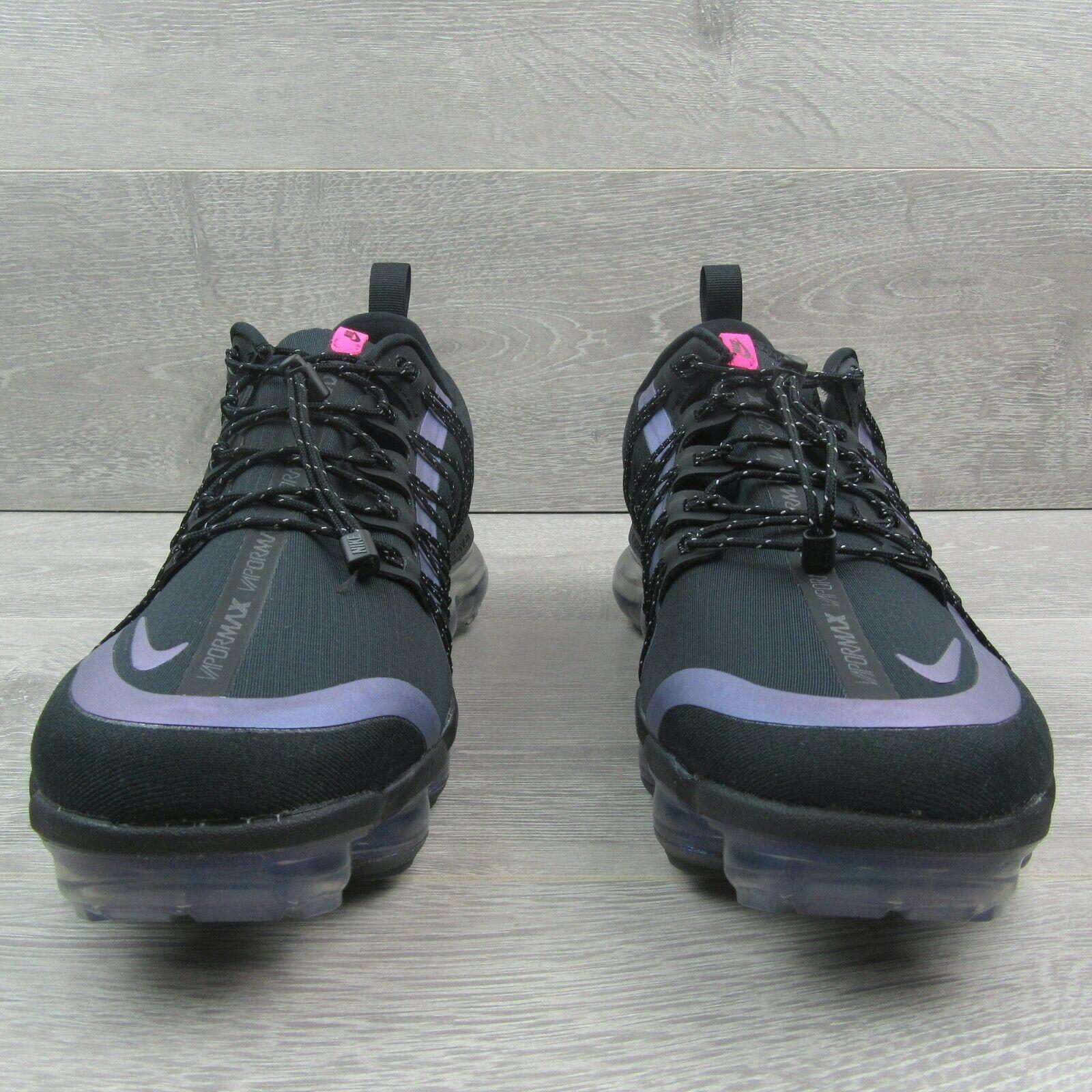 Nike Air VaporMax Run Utility Throwback Black Size 10 Running Shoes AQ8810-009