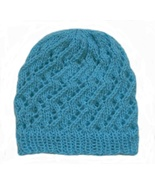 Closet Values Toddler Girls Size 2T-4T Teal Blue Knit Hat - $10.99