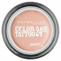 Maybelline Color Tattoo 24Hr Eyeshadow Creamy Matte 91 Crème De Rose - $9.13
