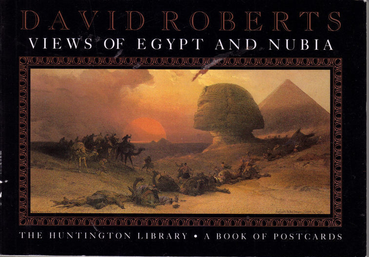 DAVID ROBERTS Views of EGYPT & NUBIA Postcards