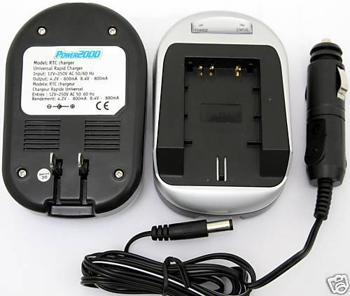 Charger for Sony DCR-TRV25 DCR-TRV250 DCR-TRV260