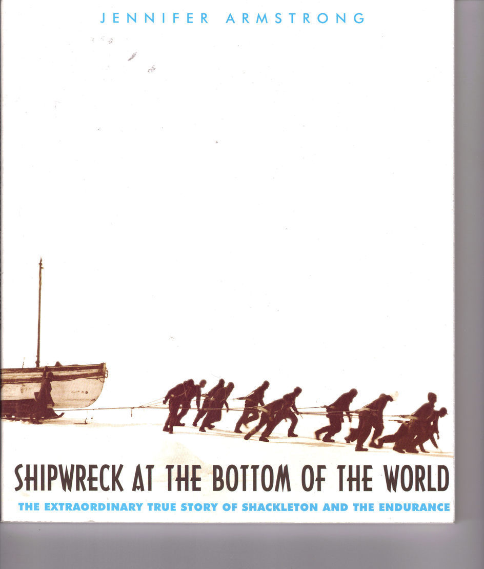 SHIPWRECK AT THE BOTTOM OF THE WORLD, Jennifer Armstrong