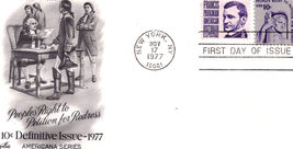 1977 Peoples' Right to Petition for Redress 1st Day Issue - $2.95