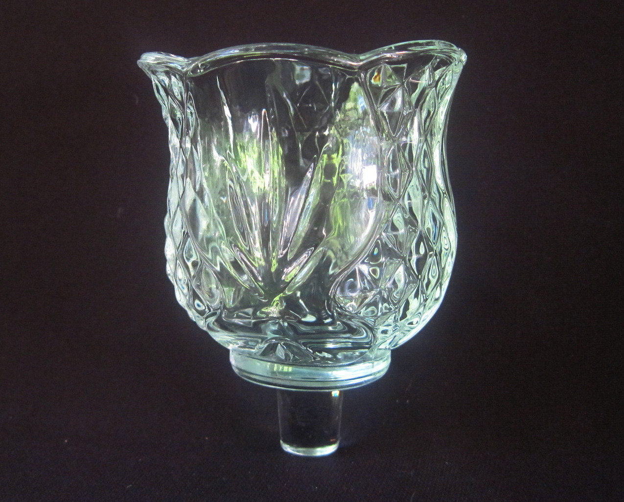 Home Interiors Pegged Votive Candle Holder Elegant Clear Candle Holders Accessories