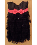 NWT BETSEY JOHNSON Little Darlin Black Sequin Dress Size 6 NEW (MAKE AN ... - $201.96
