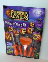 Pumpkin Carving Kit Punkin Masters Selling Brand 10 Patterns Included - $8.63 CAD