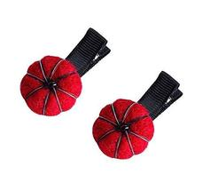 Lovely Pumpkin Shaped Hair Clips Hairpins Non-slip Barrettes for Baby Gi... - $15.46