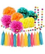 Moana Color Party Supplies Moana Theme Birthday Decorations/ Teal Orange... - €16,74 EUR