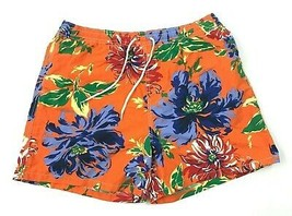 American Living Aloha Trunks Mens Size XXL 2XL Orange Hawaiian Floral Me... - $17.83