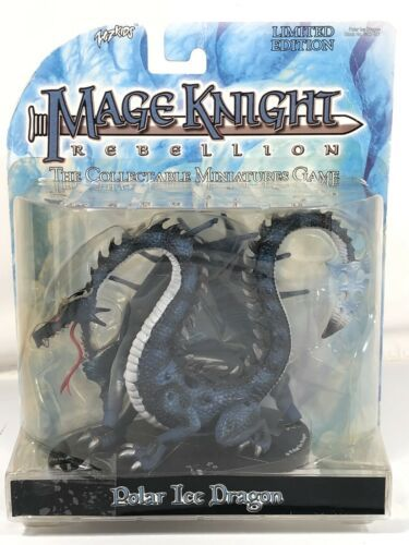 Primary image for Mage Knight Rebellion Polar Ice Dragon Vntag Wiz Kids Collectable Miniature Game
