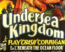 UNDERSEA KINGDOM, 12 CHAPTER SERIAL, 1936 - $19.99