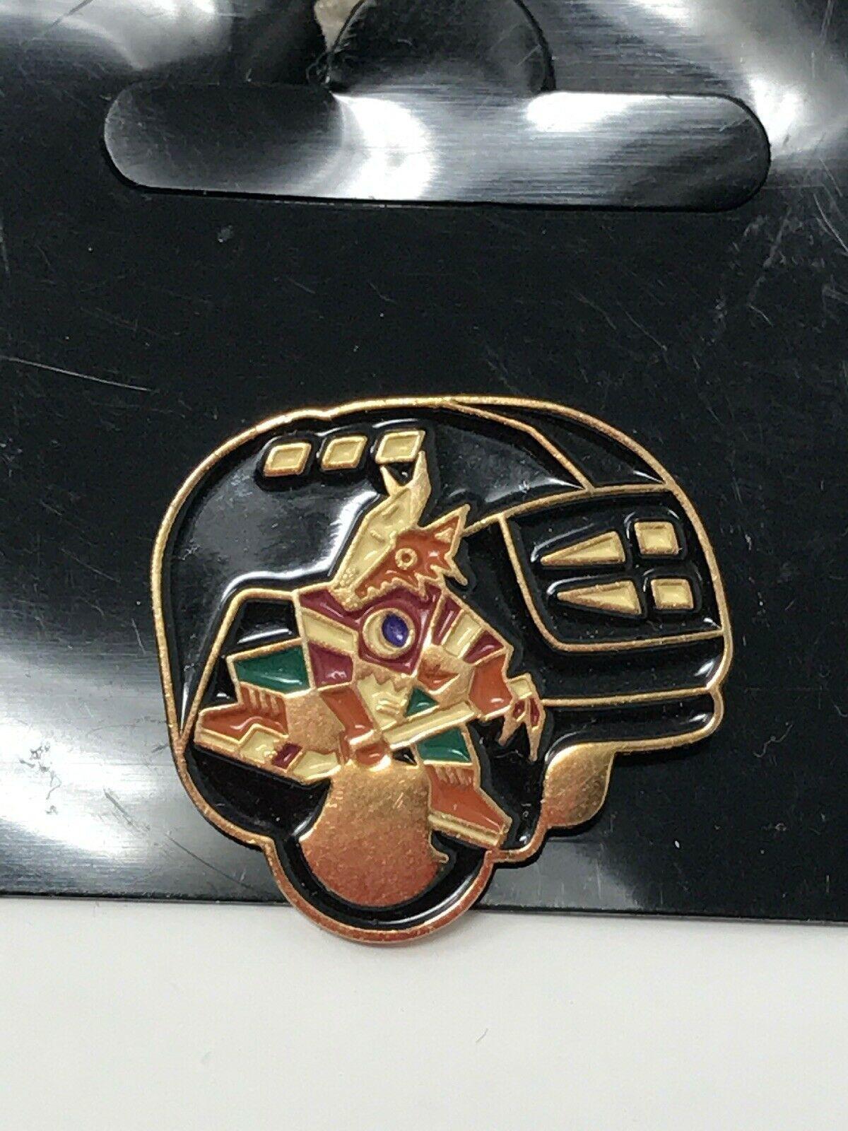 NHL Phoenix Arizona Coyotes VTG Logo Pin Helmet Coyote New NOS