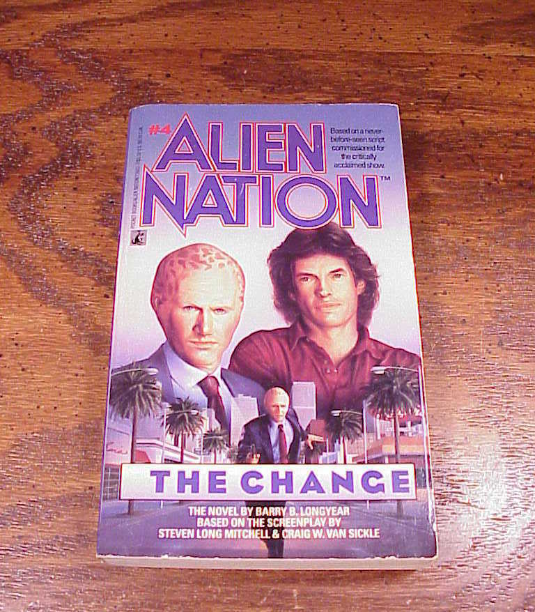 Lot of 5 Alien Nations TV Series Tie In PB Books, 3 4 5 6 7