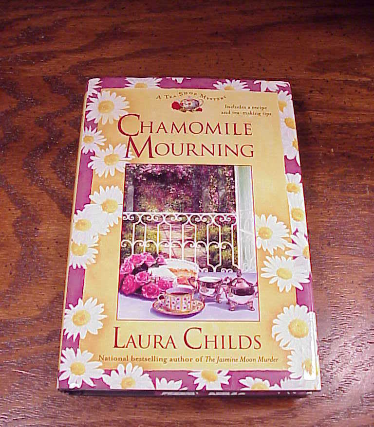 Lot of 3 A Tea Shop Mystery HB Books Laura Childs 6, 7, 8