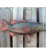 Large Fish concrete plaster cement plaque mold - $26.95