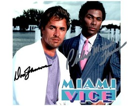 MIAMI VICE Cast  - Johnson & Thomas Autographed Signed  Photo w/COA - 27079 - $165.00