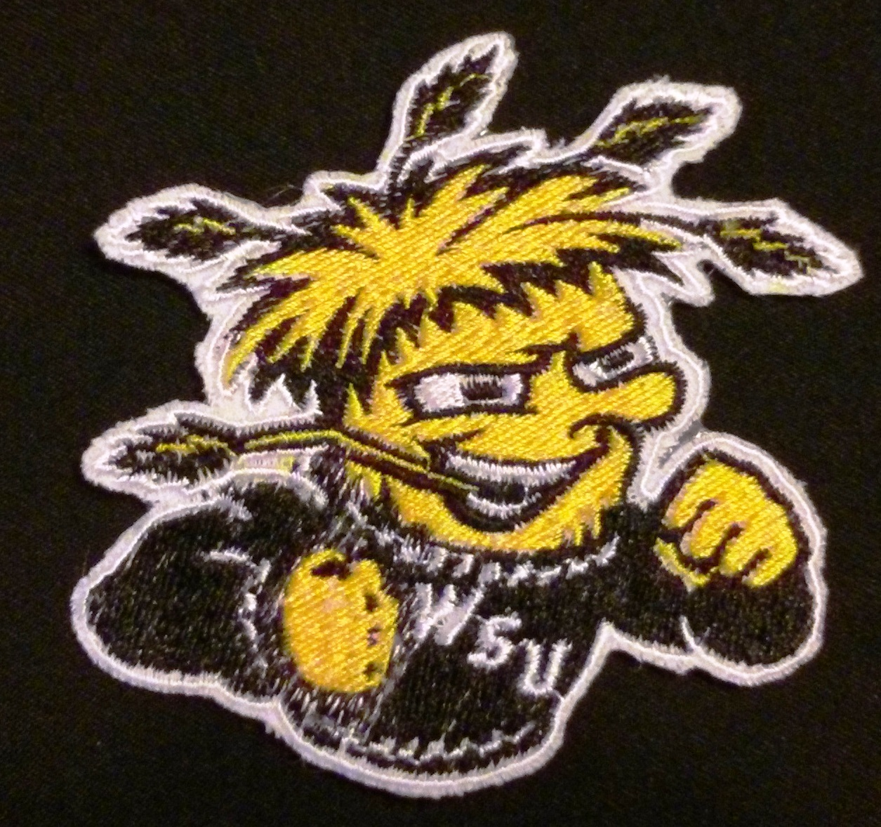 Wichita State Shockers(WSU)  logo Iron On Patch
