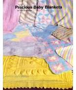 JAO Knit/Crochet Pattern PRECIOUS BABY BLANKETS Fun & Easy! - $4.99