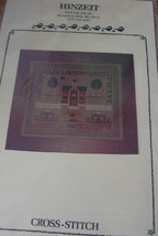 "Pattern Cross Stitch ""Americana Sampler"" by Hinzeit 11.5"" x 13.5"" - $6.99"
