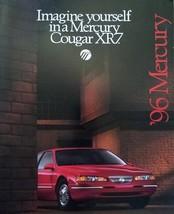 1996 Mercury COUGAR XR7 sales brochure catalog US 96 - $9.00