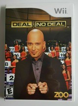 WII Game Deal or No Deal Game (Nintendo Wii, 2009) Rated E - $7.92