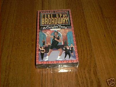 Richard simmons tone up on broadway vhs