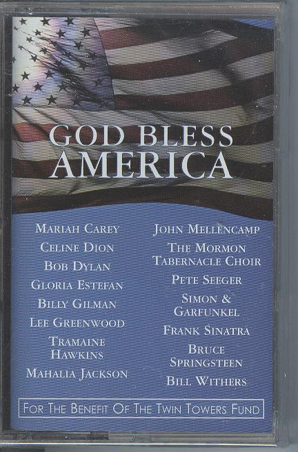 God Bless America Cassette Tape For The Benefit Of The Twin Towers Fund Sealed