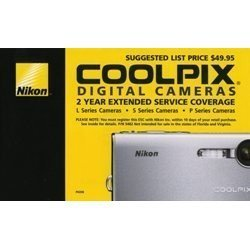 NIKON COOLPIX 2 YEAR EXTENDED WARRANTY SERVICE COVERAGE