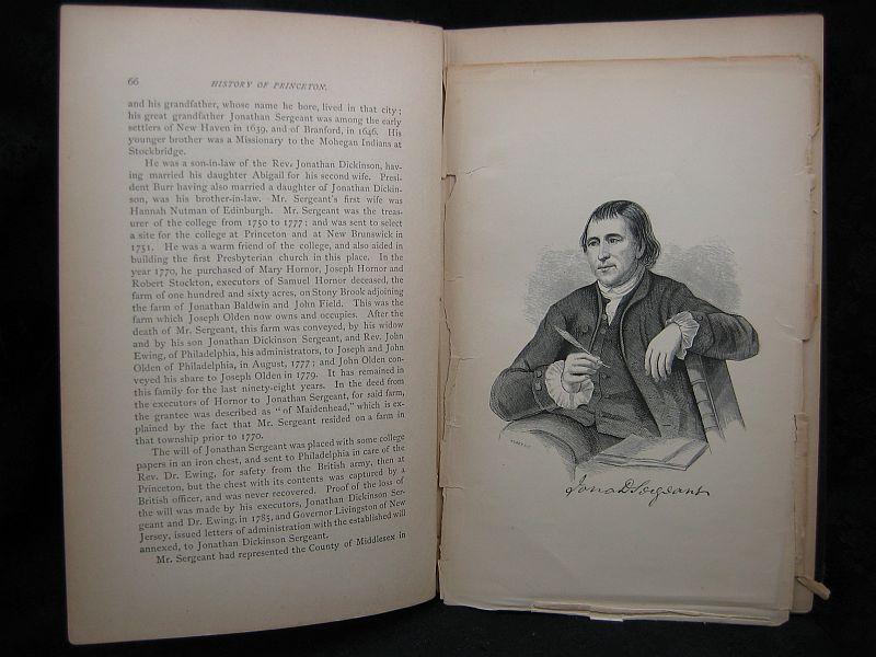 History of Princeton John Frelinghuysen Hageman 1879  2 Vols