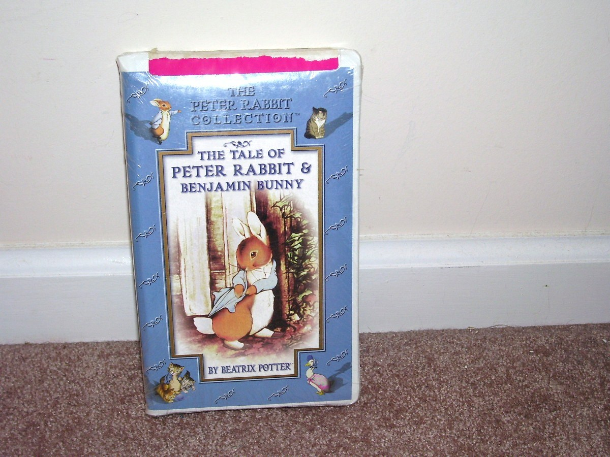 Peter rabbit tale of peter rabbit benjamin bunny vhs new