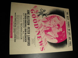 Sheet Music Best Things In Life Are Free from Good News MGM 1927 Allyson... - $8.99