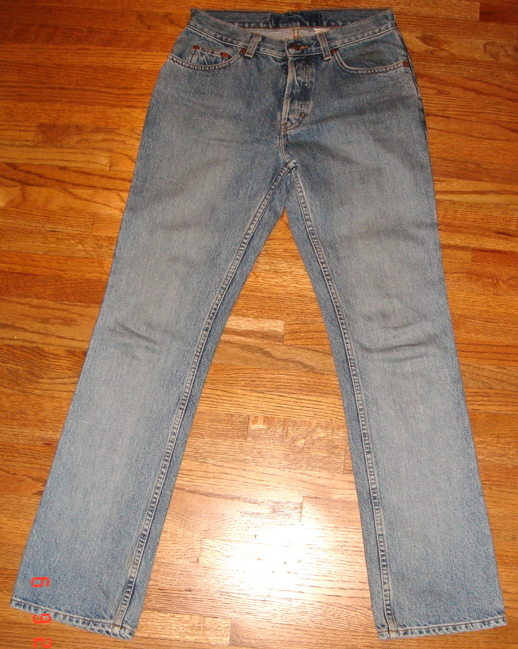 Primary image for Women's Bootcut Faded Blue Denim Jeans ~ SZ 4